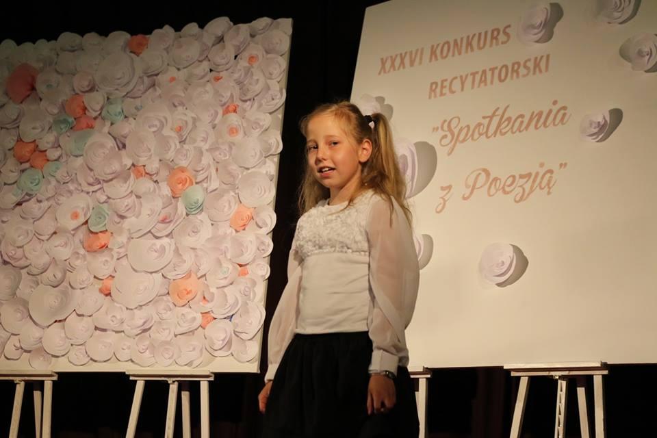 """""""Spotkania z poezją 2018"""" – kategoria szkoły podstawowe"""