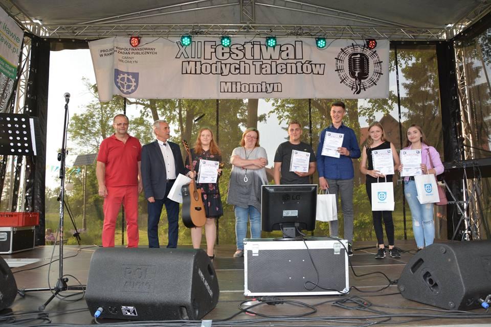 XII Festiwal Młodych Talentów w Miłomłynie