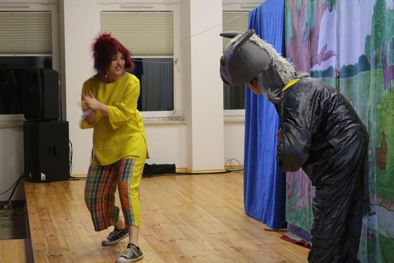 """Przygody Jacka i Placka"" z Teatrem Krak-Art."