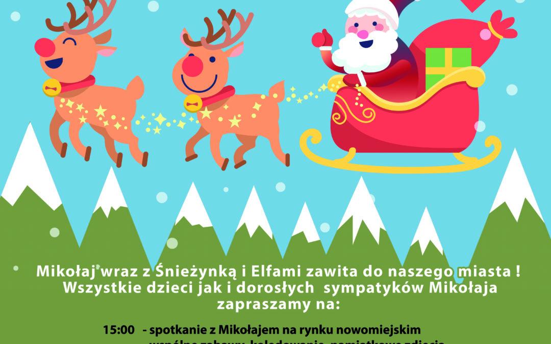 Zapraszamy na spotkanie z Mikołajem