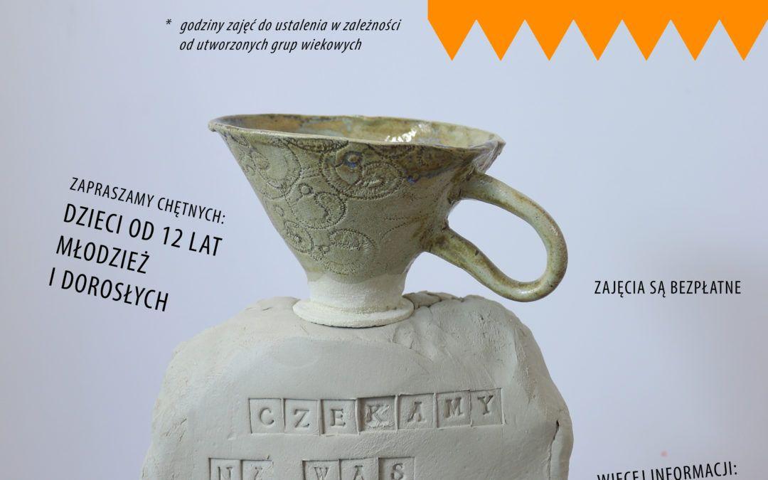 Ulep Sobie Kubek ! Otwarte Warsztaty Ceramiczne