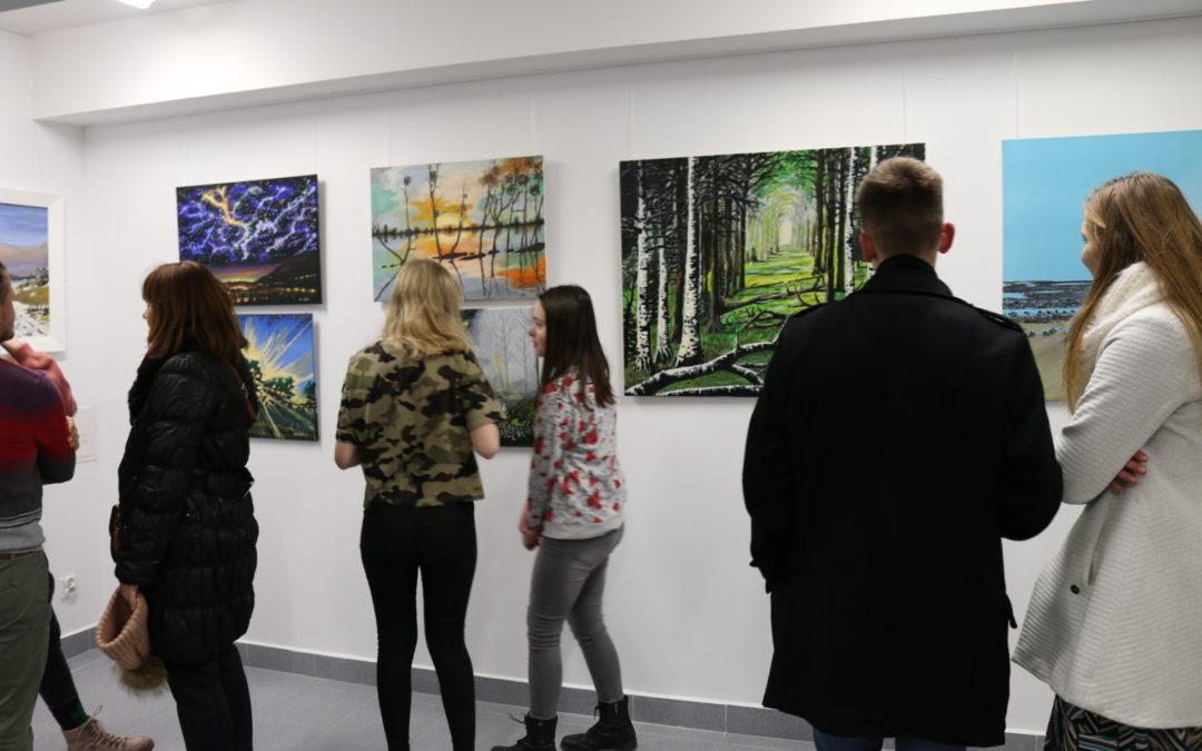 Wernisaż wystawy malarstwa Krzysztofa Osieckiego