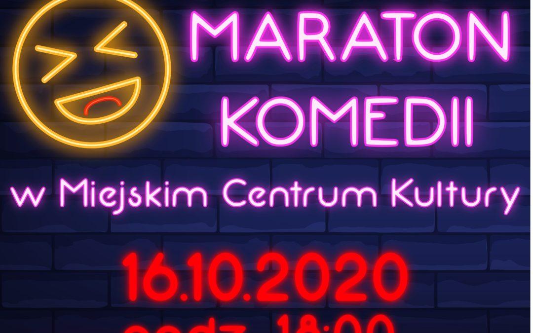 Maraton komedii w Miejskim Centrum Kultury