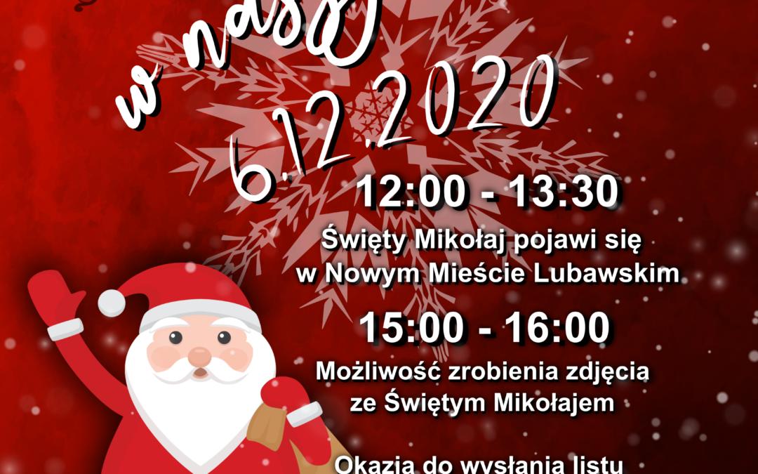 Mikołaj w naszym mieście