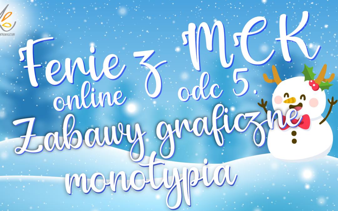 Ferie z MCK – ODC 5 Zabawa graficzna – Monotypia