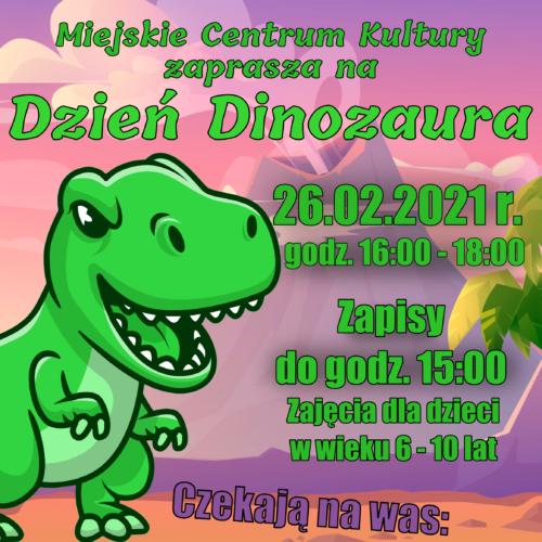 plakatDinozaur