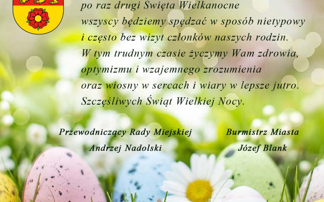 Życzenia od Burmistrza Nowego Miasta Lubawskiego