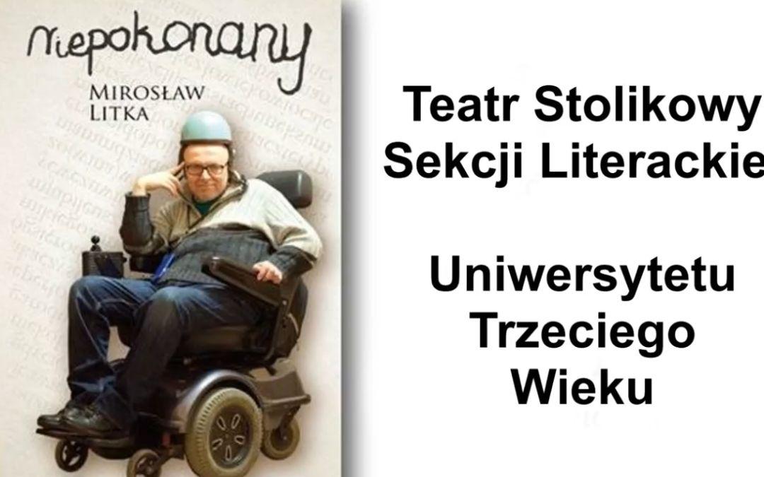 """Teatr Stolikowy Sekcji Literackiej działający przy UTW – """"Niepokonany"""""""